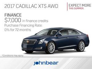 Get the 2017 Cadillac XTS Today!