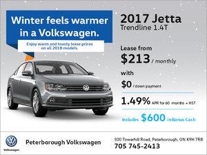 2017 Jetta Trendline 1.4T