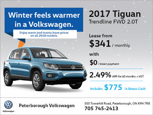 2017 Tiguan Trendline FWD 2.0T