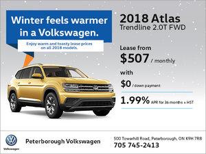 2018 Atlas Trendline 2.0T FWD
