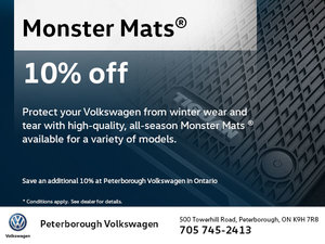 10% Off Monster Mats®