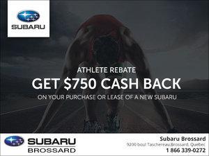Subaru's Athlete Rebate