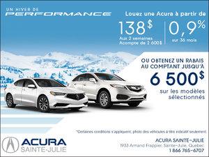 Événement Un hiver de Performance avec Acura!