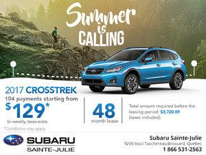 Save on the 2017 Subaru Crosstrek Today