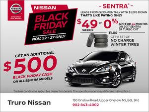Black Friday Sale - Sentra SR Turbo