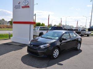 Toyota Corolla LE + BANC CHAUFFANTS + CAMÉRA RECUL 2014