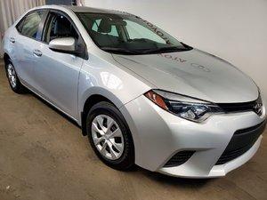 Toyota Corolla Groupe électrique + A/C 2014