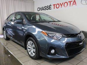 2015 Toyota Corolla S + Garantie PEA 2020 ou 100 000km