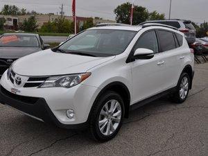 Toyota RAV4 Limited AWD GPS,TOIT,CUIR 20000KM!!! 2015