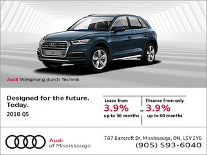 Get the 2018 Q5 today!