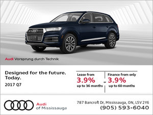 Save on the 2017 Audi Q7!