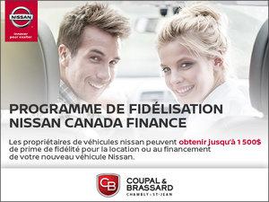 Programme de fidélisation Nissan Canada Finance