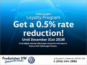 Volkswagen Loyalty Program