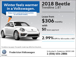 Lease the 2018 Beetle