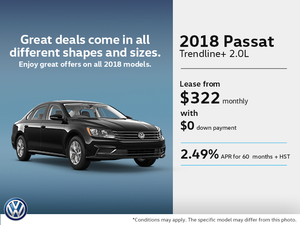 Lease the 2018 Passat