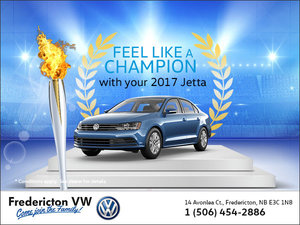 Feel Like a Champion With the 2017 Jetta