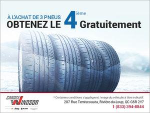 Rabais impressionnant sur vos pneus d'hiver!