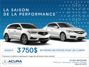 L'événement la saison de la performance d'Acura
