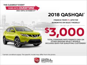 2018 Nissan Qashqai!