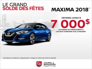 La Nissan Maxima 2018