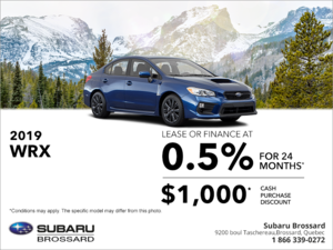 Get the 2019 WRX today!