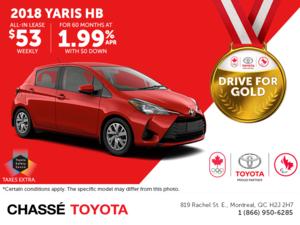 2018 Toyota Yaris HB