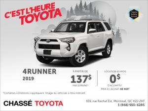 Toyota 4Runner 2019