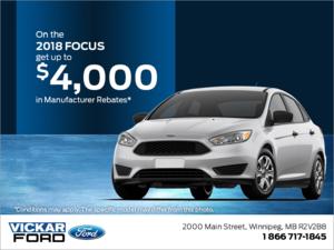 2018 Ford Focus!
