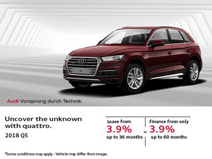 Save Big on the 2018 Audi Q5