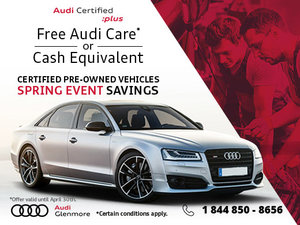 This Spring, Get Free Audi Care at Glenmore Audi