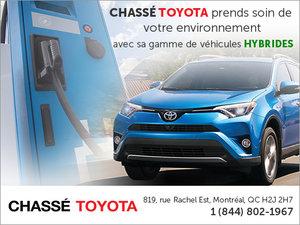 Véhicules hybrides chez Chassé Toyota