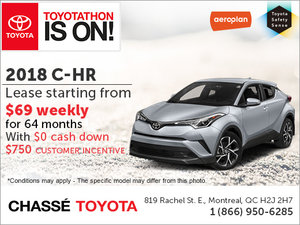 Save on the 2018 C-HR!