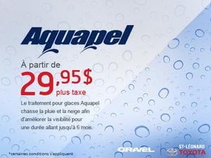 Seulement 29.95$ pour un traitement Aquapel