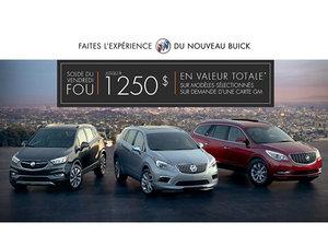 Promotion Buick Novembre 2017
