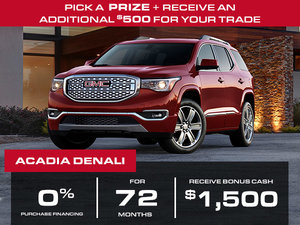 2018 GMC Acadia - 0% FOR 72 MONTHS
