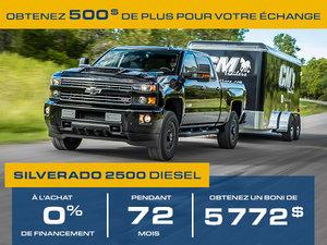 Promotion Juillet Chevrolet Silverado 2500 2018