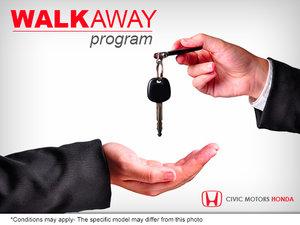 Civic Motors WALK AWAY program