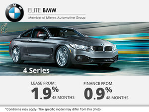 Finance a BMW 4 Series from 0.9%