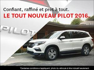 Le tout nouveau Honda Pilot 2016 chez Orléans Honda