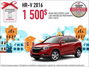 Économisez sur la Honda HR-V 2016 dès aujourd'hui!