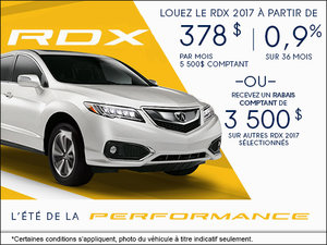 Acura RDX 2017 à Camco Acura!