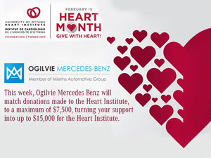 February is Heart Month - Give with Heart!