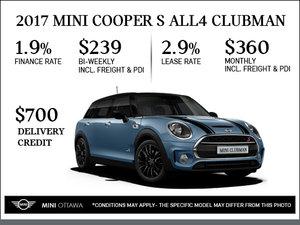 2017 MINI Cooper S ALL4 Clubman