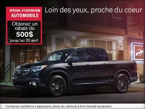 Économisez sur le véhicules Honda durant le Salon de l'Auto d'Ottawa