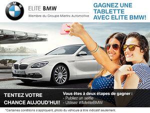 Gagnez une tablette avec Elite BMW!