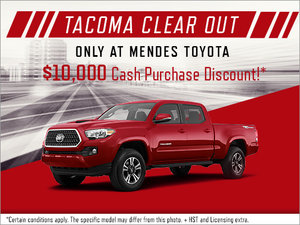 Tacoma Clear Out