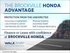 The Brockville Honda Advantage