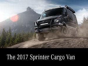 The 2017 Sprinter Cargo Van