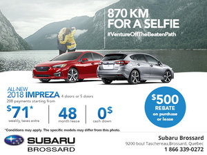 Save on the 2018 Subaru Impreza Today!