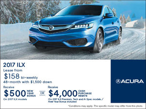 Lease the 2017 Acura ILX Today!